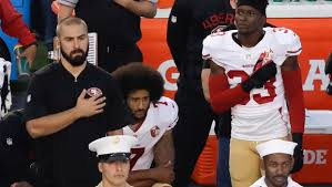 "Athletes ""Taking Stand"" by Kneeling"