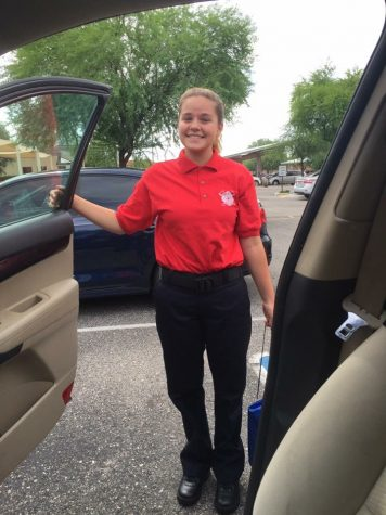 Samantha Williams Getting Head Start with JTED Firefighter Program