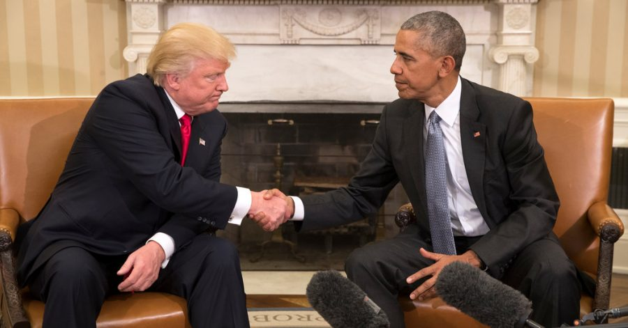 Obama and Trump – Transition of Power