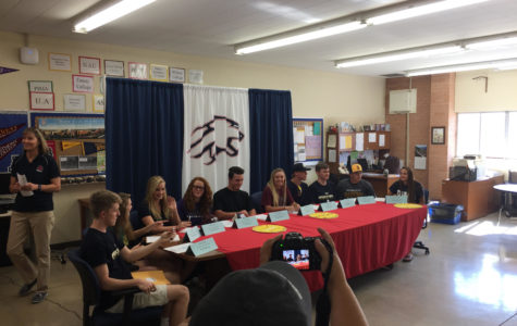 Sahuaro Signing Day 2k17 – Ten Athletes Commit