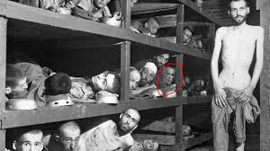 Elie is Circled in Red in Buchenwald Concentration Camp