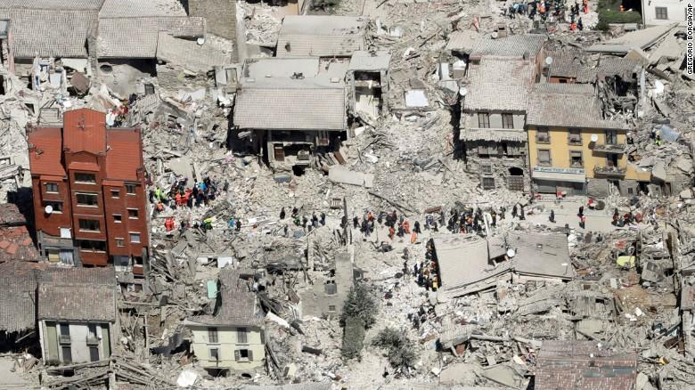 Entire towns destroyed in moments