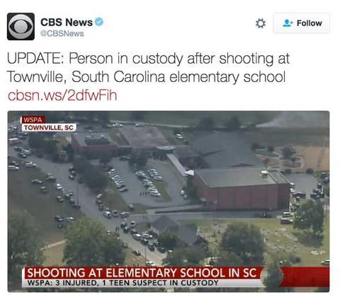 Latest School Shooting in Elementary School