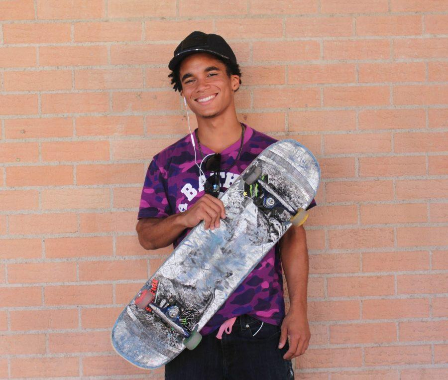 Future Pro-Skateboarder Terrence Moore