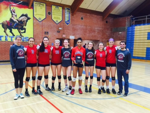 Girls Volleyball Wins Invitational Undefeated