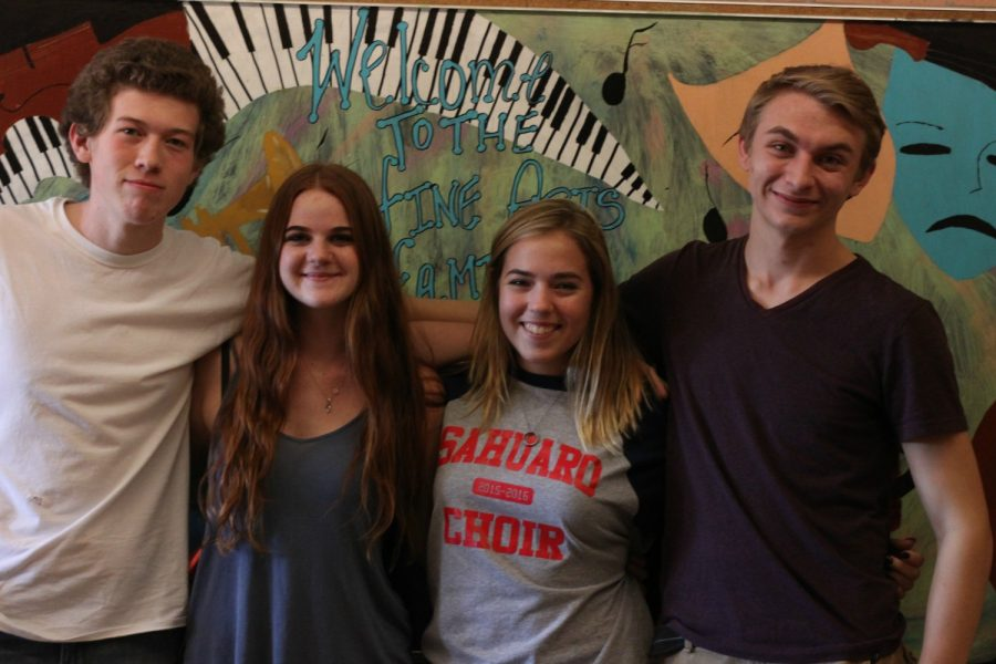 Four Choir Students Make it to UA High School Honor Choir