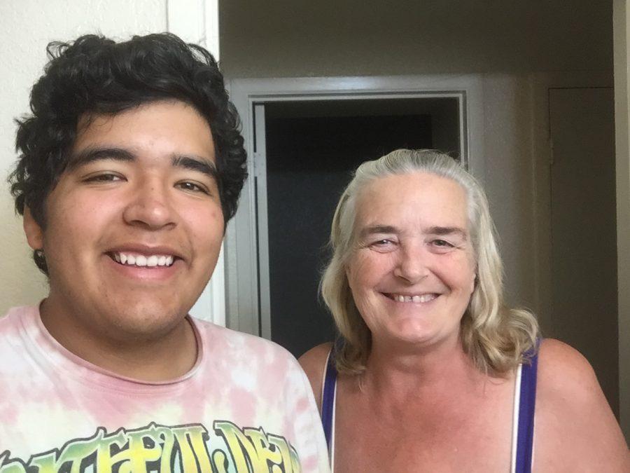 Richard Duran and His Mom