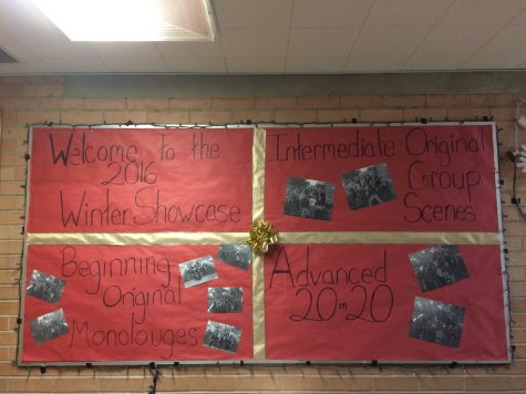 Thespians Put On Annual Winter Showcase