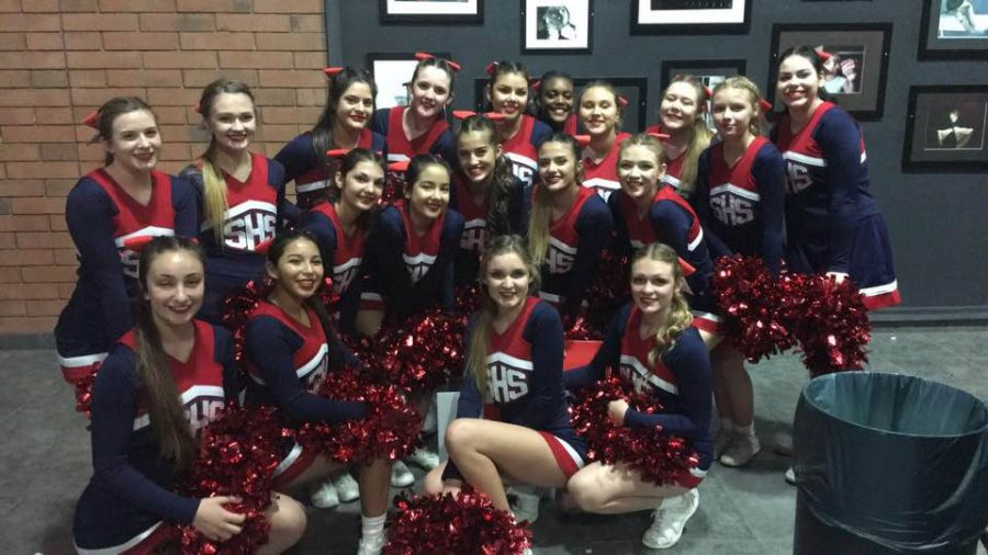 Cheer+Team+Competes+at+State+Level