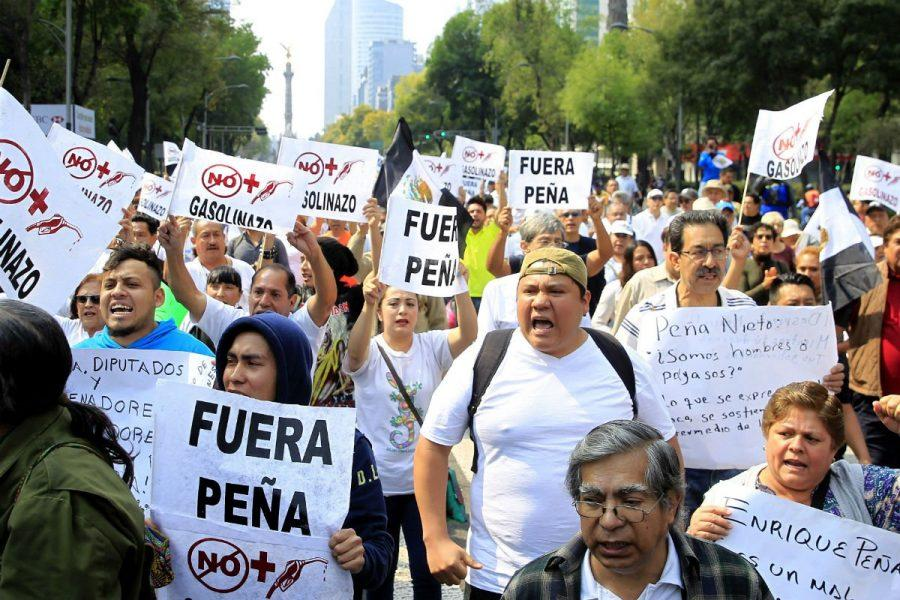 Gas Hike in Mexico Breaks Out Powerful Protests