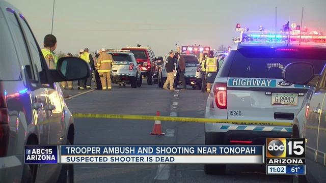 Trooper Ambushed Near Tonopah