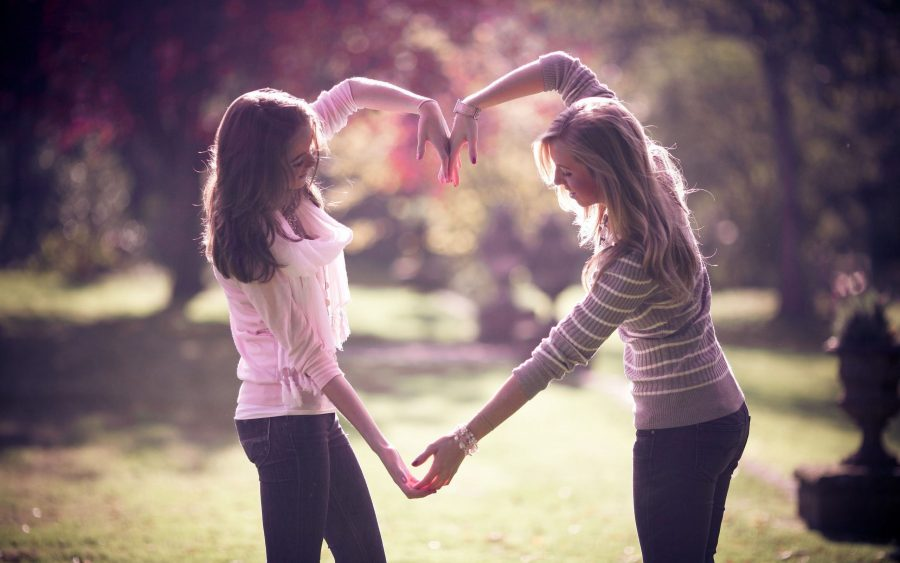 The Greatest Love Between Girl Best-Friends