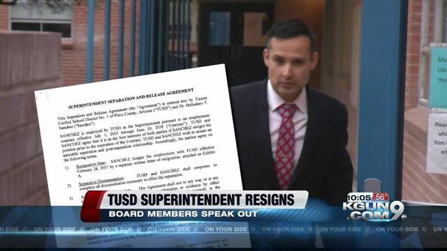 TUSD Superintendent H.T. Sanchez Calls It Quits