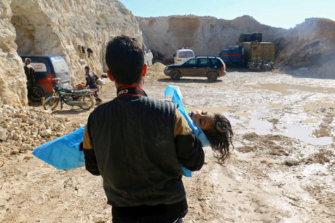 Deadly Gas Dropped on Syrian Town