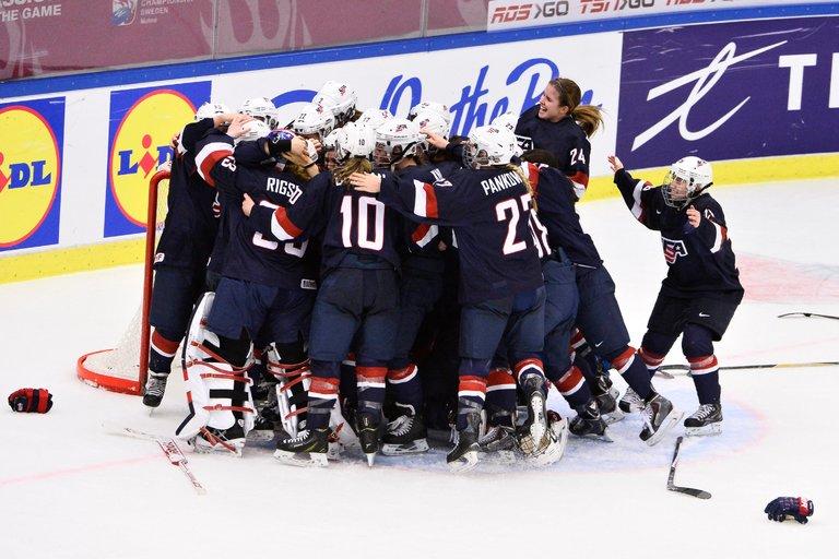 USA Womens Hockey Strikes For Equal Pay