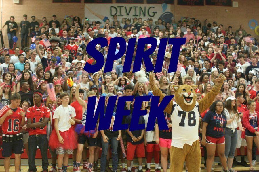 Last Spirit Week of the School Year!