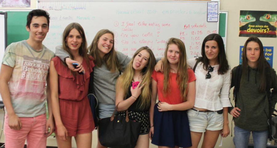French Exchange Students at Sahuaro