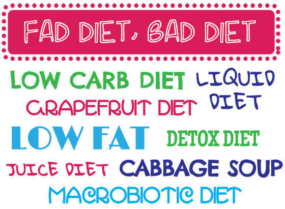 Dont Waste Time With Diet Fads!