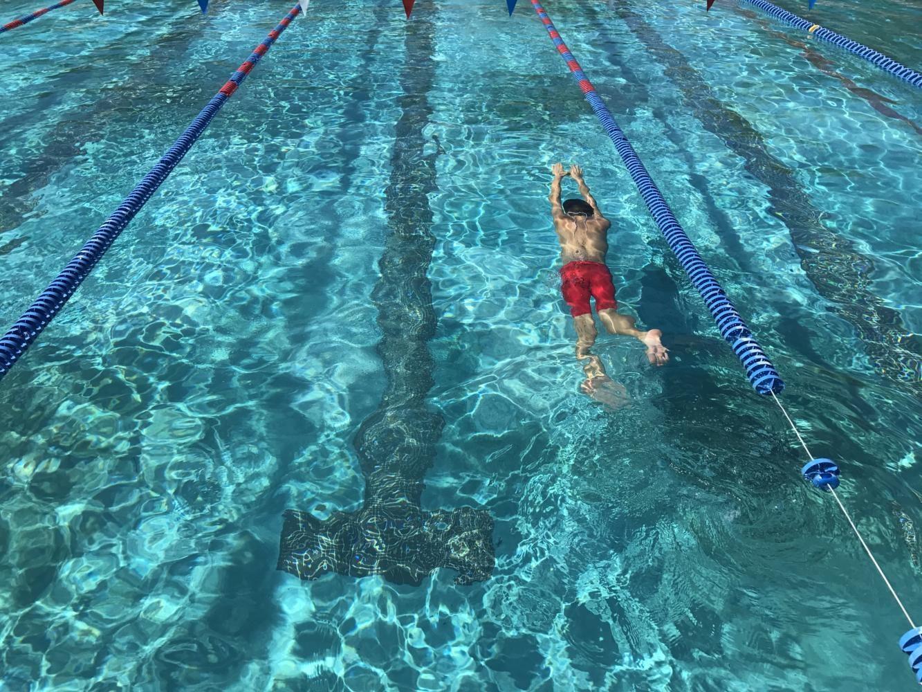 Sahuaro Swim Team Testing New Waters