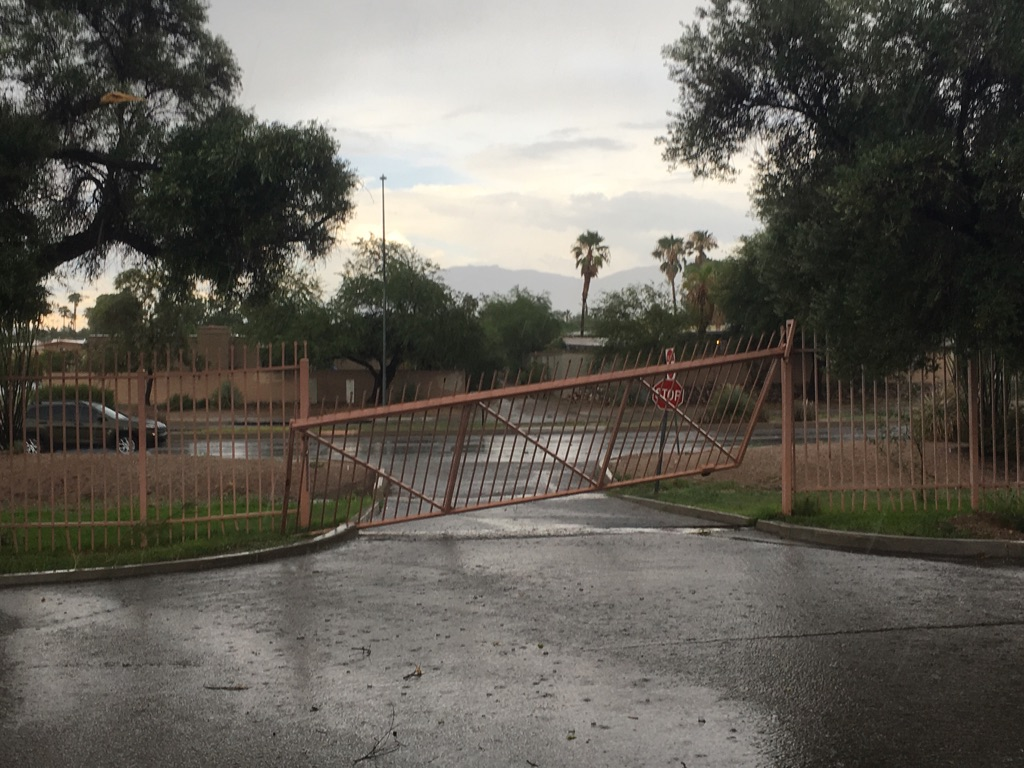 Tucson Microburst Storm Leaves Tons of Damage in Its Wake