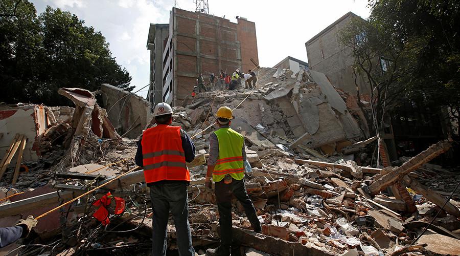 7.1 Earthquake Hits Mexico City