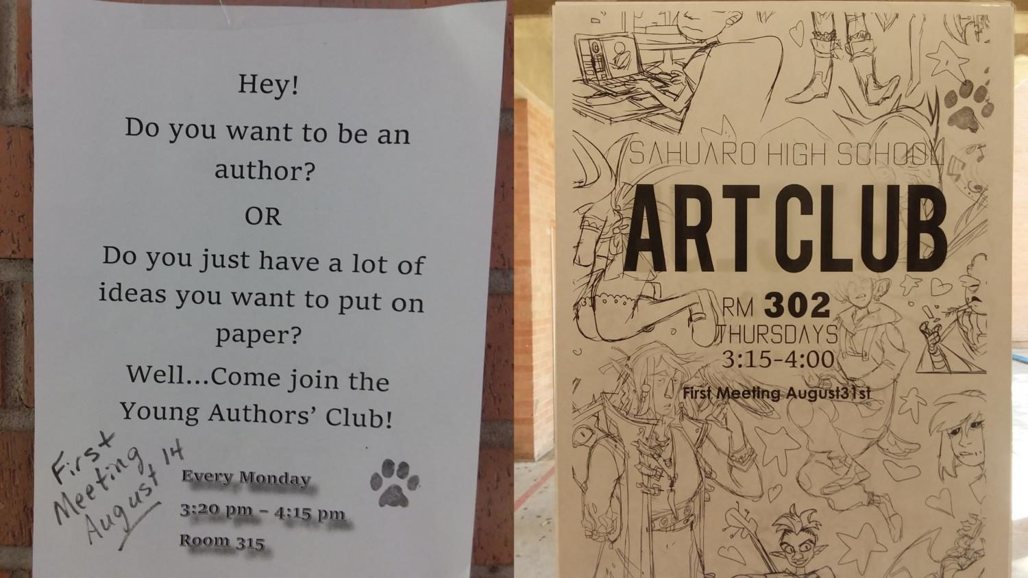 Go Clubbing! Get Involved With Sahuaro Clubs