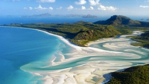 The Mainland Tourist Ports Of Airlie Beach And Shute Harbor Is Accessible By A Helicopter It Was Named Top Eco Friendly In World