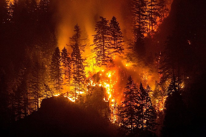 The Northwest up in Flames