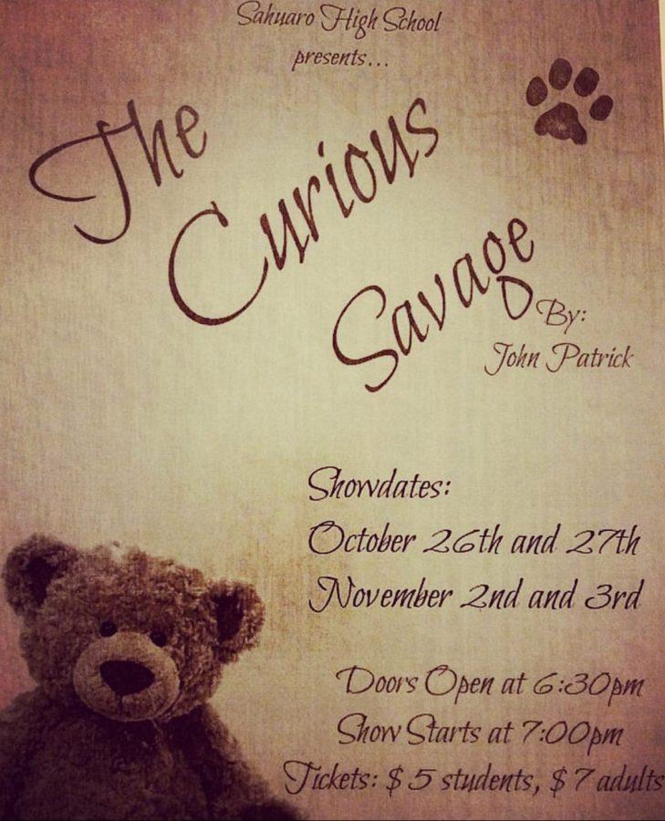 Sahuaros Drama Class Presents: The Curious Savage