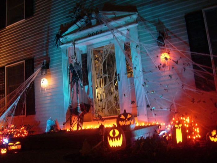 Halloween Front Yard Decoration Ideas Part - 36: 5 Cheap Halloween Decoration Ideas