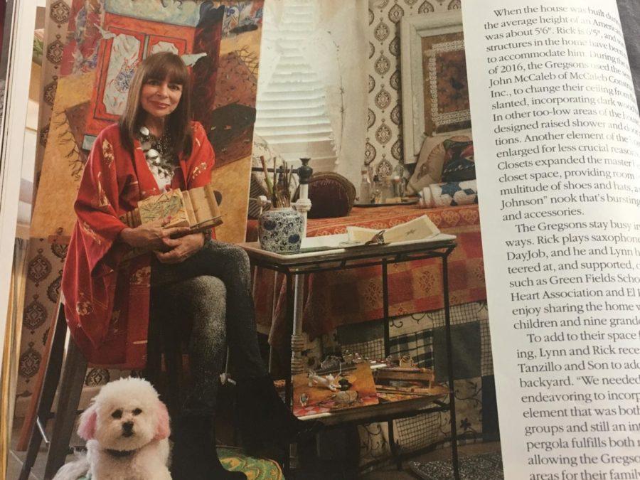 Former Art Teacher Lynn Gregsons Artsy Home