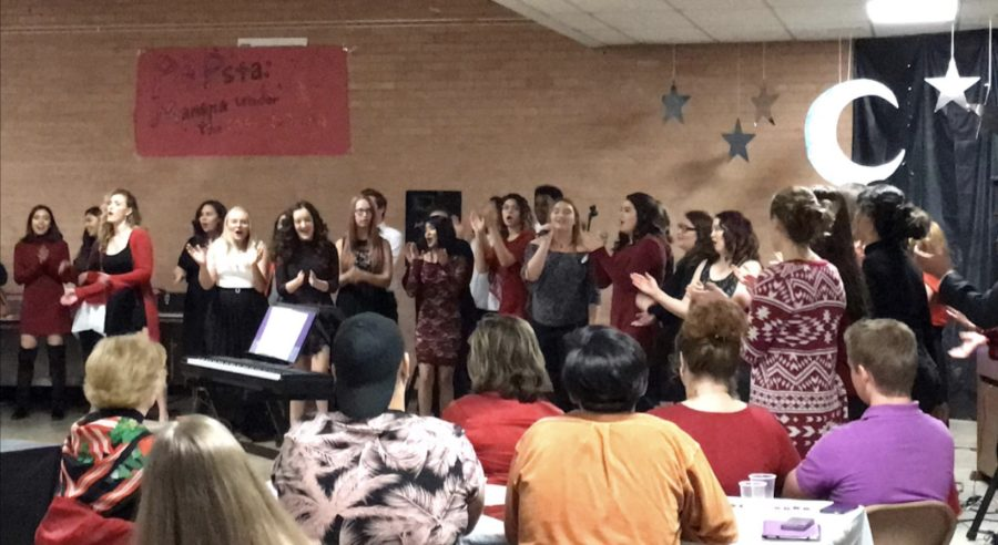 Choirs Incredible Popsta Night