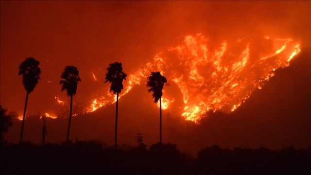 Uncontrolled Wildfires Devastate California