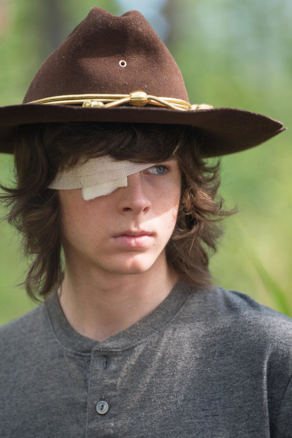 Chandler Riggs as Carl Grimes - The Walking Dead _ Season 6, Episode 10 - Photo Credit: Gene Page/AMC