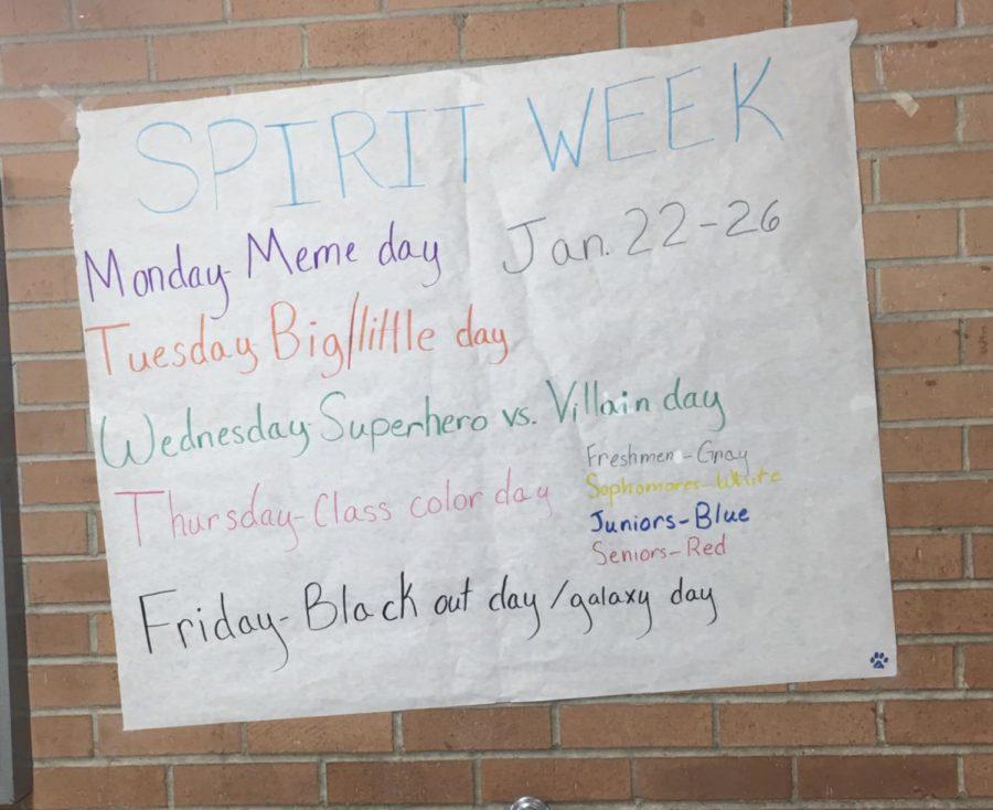 Spirit Week is Coming Again