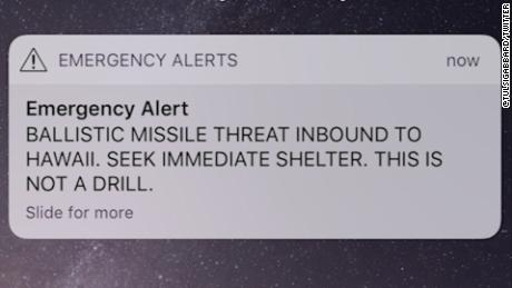 Fake Missile Threat In Hawaii