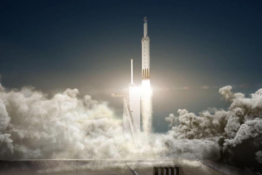Elon Musk Sends a Car Into Space