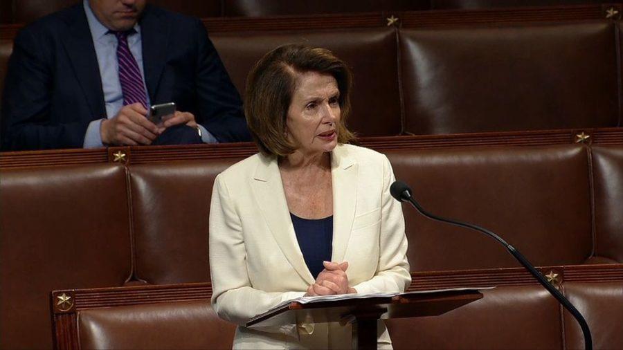 Nancy Pelosi Gives 8-Hour Speech in 4-Inch Heels