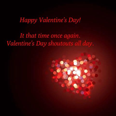 Valentines SHOUT OUTS
