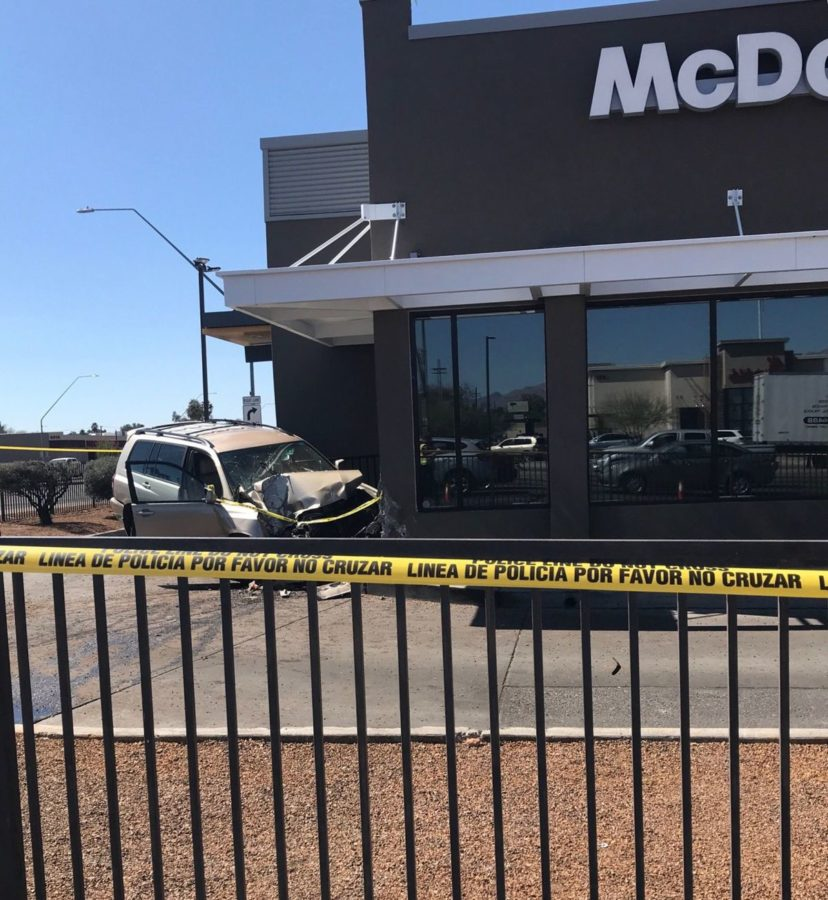 Pedestrian Killed at Dinosaur McDonald's