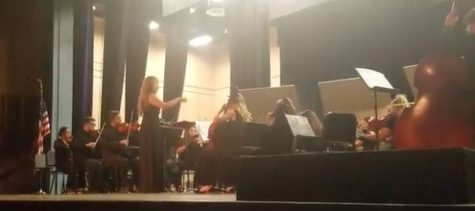 Sahuaro Students Conduct The Orchestra