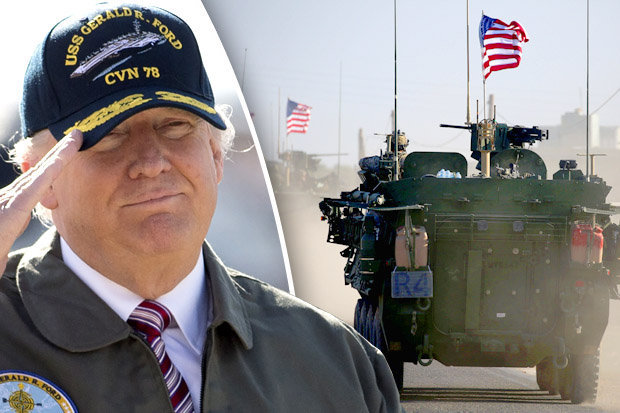 Trump Sends Military To Border Until Wall Is Built