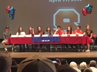 Nine SHS Athletes Commit on 2018 Signing Day