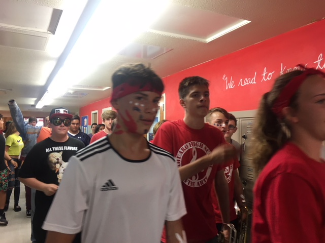 First Hall March of the Year Inspires Spirit