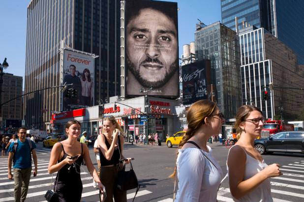 Colin Kaepernick and Nikes Burnt Ad