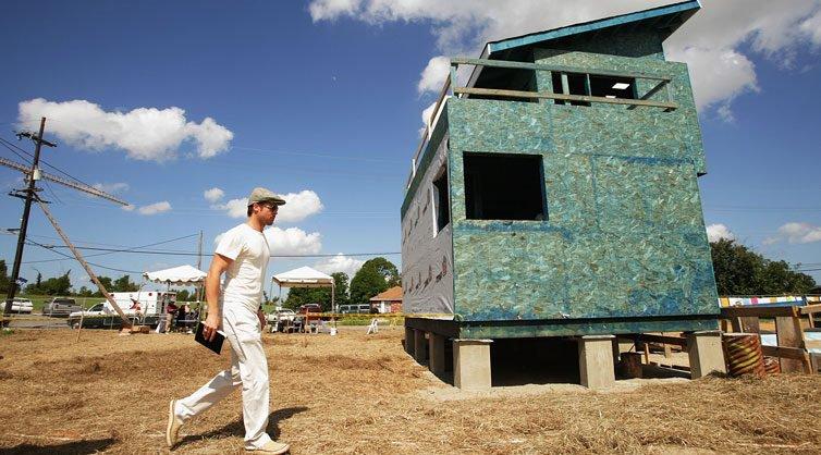Brad Pitt Sued Over Falling Homes