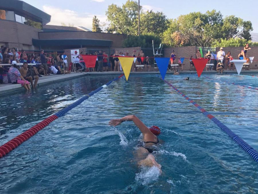 Sahauro Swim Team Goes Against Sabino and TV