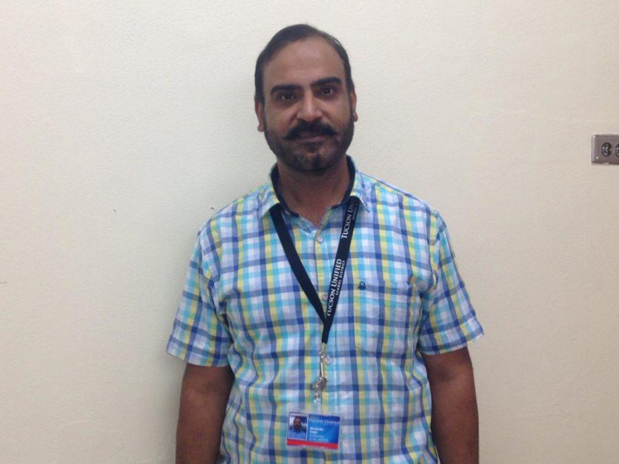 Sahuaro Welcomes Mr. Singh - New Teacher From India