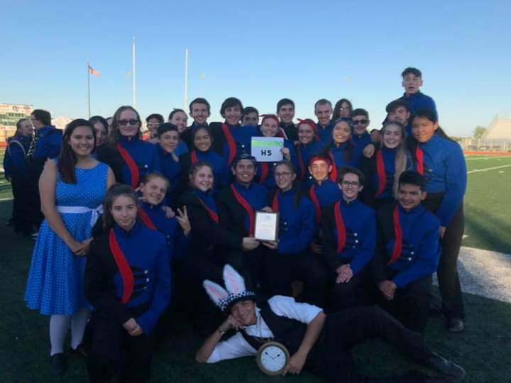 Band Brings Home the Win