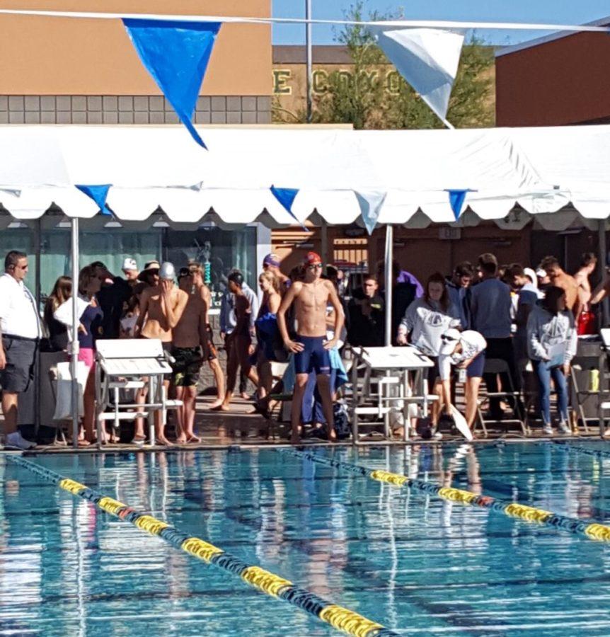 Zach Sierra - Lone Sahuaro Swim Champion
